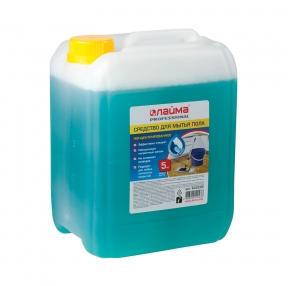 Средство для мытья пола 5 кг, ЛАЙМА PROFESSIONAL концентрат, Морской бриз (602296)