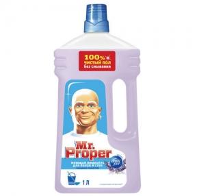 Средство для мытья пола и стен 1 л, MR.PROPER, Лавандовое спокойствие (603840)