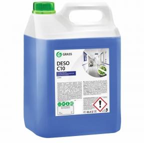 Средство моющее c дезинфицирующим эффектом, GRASS DESO C10, 5 кг, концентрат (605608)