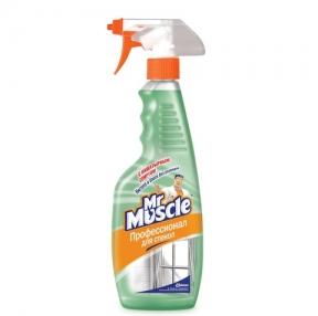 Средство для мытья стекол МИСТЕР МУСКУЛ, 500 мл, с нашатырным спиртом