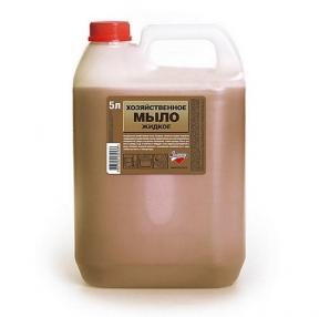 Мыло жидкое хозяйственное, 5 л, ЗОЛУШКА (603644)