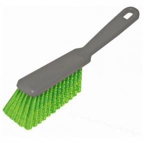 Щетка-сметка для уборки, ручка 16 см, длина щетины 5 см, ширина 4 см, пластик, цвет ассорти, YORK, 60010 (604575)