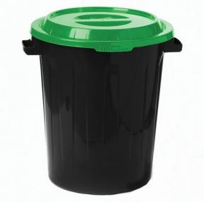 Контейнер 60 литров для мусора, БАК+КРЫШКА, IDEA (602307)