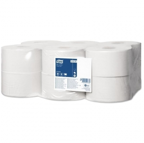 Бумага туалетная 200 м, TORK (Система Т2), комп. 12 штук, Universal (124545)