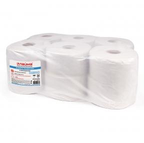 Бумага туалетная 200 м, ЛАЙМА (Система T2), цвет натуральный, комп. 12 шт., Универсал (129571)