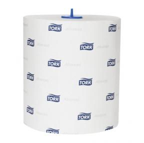 """Полотенца бумажные в рулонах Tork Matic """"Advanced""""(H1), 2-слойные, 150м/рул, тиснение, белые (193494)"""