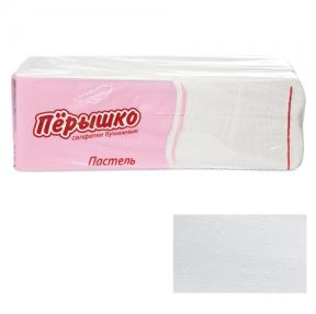 Салфетки «Перышко» Big Pack, 24×24 см, 400 шт., белые