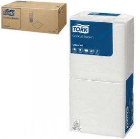Салфетки TORK Big Pack, 24×23,8, 200 шт., белые, 10130 (127071)