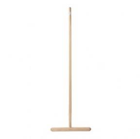 Швабра для пола деревянная, длина черенка 120 см, рабочая часть 32 см (600110)