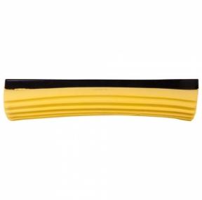 Насадка МОП для швабры самоотжимной роликовой, PVA 27 см, желтая, ЛАЙМА (603599)