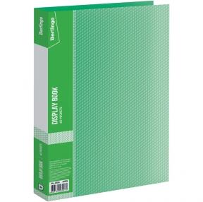 Папка с 40 вкладышами Berlingo Diamond, 21мм, 700мкм, зеленая (175733)