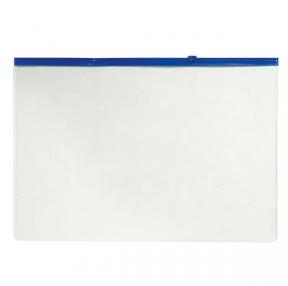 Папка на молнии А4 inФОРМАТ, 0,18 мм, пластиковая, прозрачная (037780)