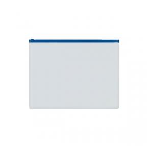 Папка на молнии А5 inФОРМАТ, 0,18 мм, пластиковая, прозрачная (037781)