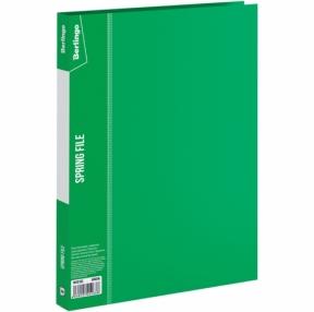 Папка с зажимом Berlingo, Standard, 17мм, 700мкм, зеленая (133502)