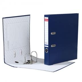 Папка-регистратор ERICH KRAUSE «Стандарт» с покрытием из ПВХ, 50 мм, синяя