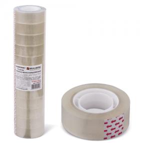 Клейкие ленты 19 мм х 33 м канцелярские BRAUBERG