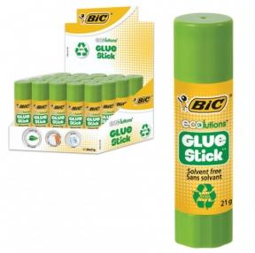 Клей-карандаш BIC ECOlutions 21 г, с ароматом яблока (225023)