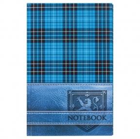 Блокнот BRAUBERG , A5, 135×206 мм, 96 л., твердая ламинированная обложка, клетка, шотландка (123248)