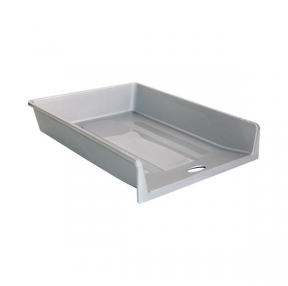 """Лоток горизонтальный СТАММ """"1 в 1"""", пластиковый, серый (ЛТ151)"""