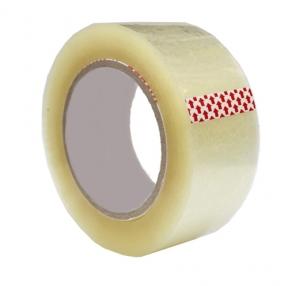 Клейкая лента упаковочная 48 мм*40 м 38 мкм ШК  (Спейс)