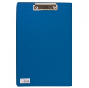 Доска-планшет BRAUBERG «Comfort», с верх. прижимом, А4, 23×35 см, картон/ПВХ, синяя