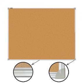 Доска пробковая BRAUBERG для объявлений, 45×60 см, алюминиевая рамка