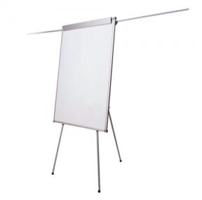 Доска-флипчарт BRAUBERG магнитно-маркерная, 70×100 см, с держателями для бумаги, Россия (236160)