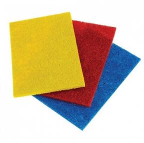 Салфетки абразивные, 13×9х0,5 см, Комплект 3 шт., для удаления стойких загрязнений, Лайма (601564)
