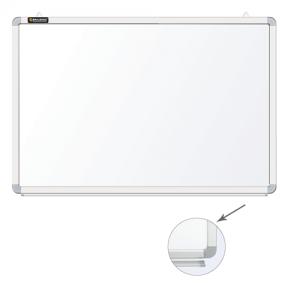 Доска магнитно-маркерная BRAUBERG 45*60 см, улучшенная алюминиевая рамка, ГАРАНТИЯ 10 ЛЕТ
