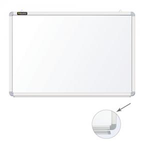 Доска магнитно-маркерная BRAUBERG, 60×90 см, улучшенная алюминиевая рамка