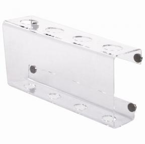 Держатель магнитный для 4 маркеров для доски (85×160 мм), прозрачный акрил, BRAUBERG, Россия (235530)
