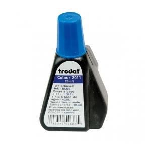 Краска штемпельная TRODAT, 28мл, синяя (012304)
