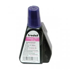 Краска штемпельная TRODAT, 28мл, фиолетовая  (012305)