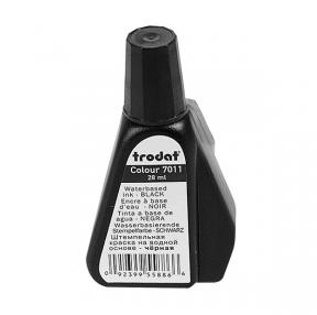 Краска штемпельная TRODAT, 28мл, черная  (012306)