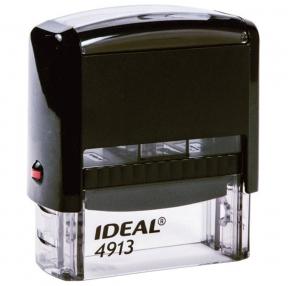 Оснастка для штампа, размер оттиска 58×22 мм, синий, TRODAT IDEAL 4913 P2, подушка в комплекте (236844)