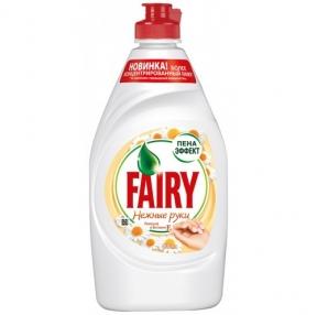 Средство для мытья посуды 450мл FAIRY, Ромашка и витамин Е (603747)