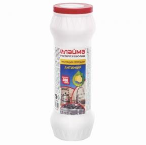 Чистящее средство 400 г, ЛАЙМА PROFESSIONAL Антижир, Лимон, порошок (604654)