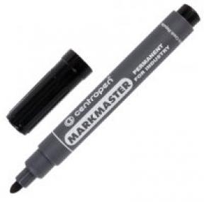 Маркер для промышленной маркировки CENTROPEN MARKSMASTER, черный, 1,5 мм (151137)