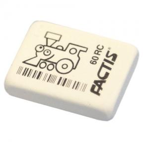 Резинка стирательная FACTIS 60 RC, прямоугольная, 32х24х7мм, мягкая, синт. каучук, CNF60RC (228001)