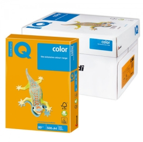 Бумага IQ  color, А4, 80 г/м2, 500 л., золото