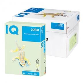 Бумага IQ  color, А4, 80 г/м2, 500 л., пастель светло-зеленая
