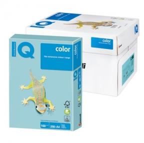 Бумага IQ  color, А4, 160 г/м2, 250 л., пастель голубая