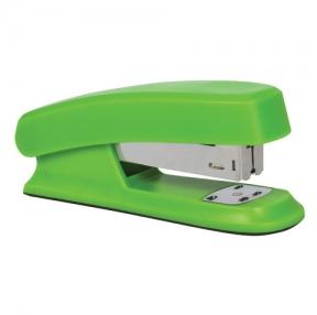 Степлер BRAUBERG «Option», №24/6, до 25 листов, пластиковый корпус, метал. механизм, зеленый (226853)