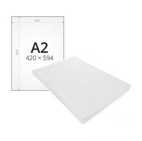 Ватман А2 (594 х 420 мм),  плотность 200 г/м2, ГОЗНАК С-Пб,  1 лист, водяной знак (121598)